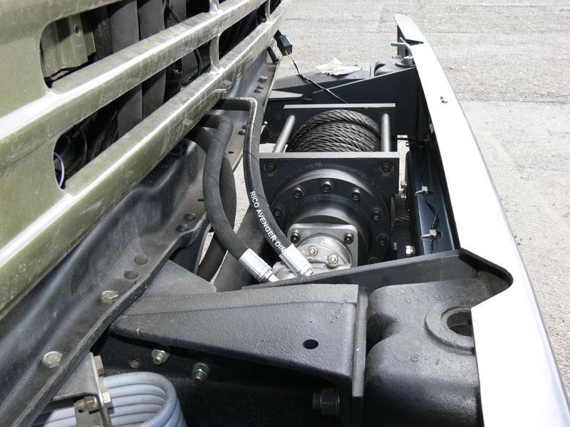 Гидравлический мотор редуктор для авто лебедки