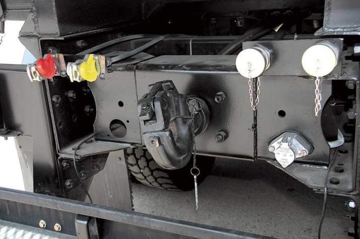 Установка электро-пневмо-гидро выводов на автотехнику