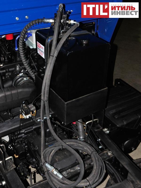 Гидрофикация КАМАЗ 65225 под