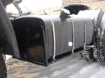 Защита топливного бака с 3-х сторон